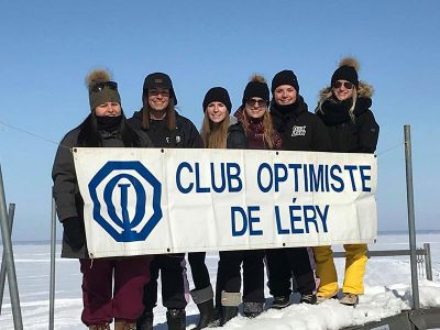 Tournoi de golf sur glace du Club Optimiste 2019